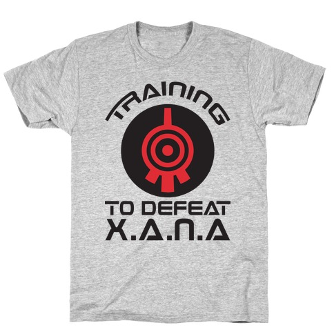 Training To Defeat XANA T-Shirt