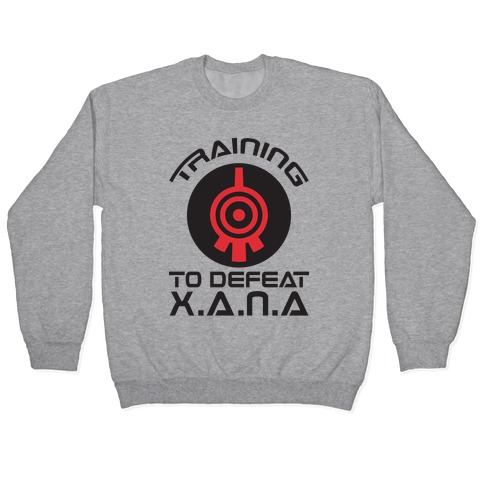 Training To Defeat XANA Pullover