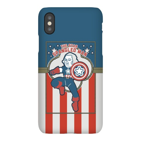 The Star Spangled Man Phone Case