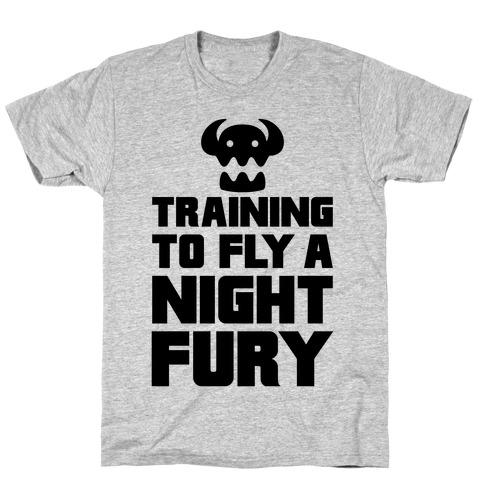 Training To Fly A Nightfury T-Shirt