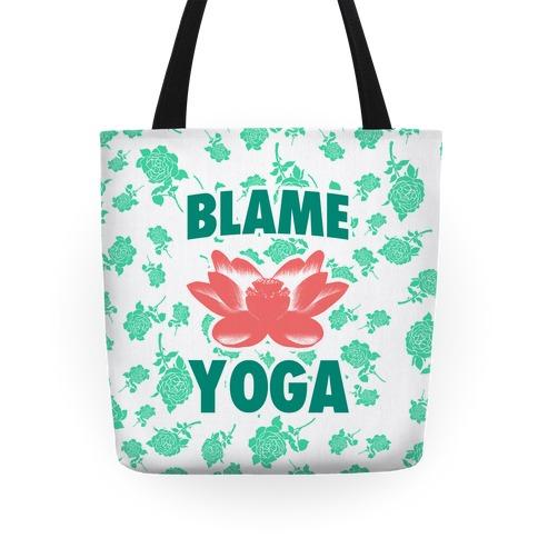 Blame Yoga Tote