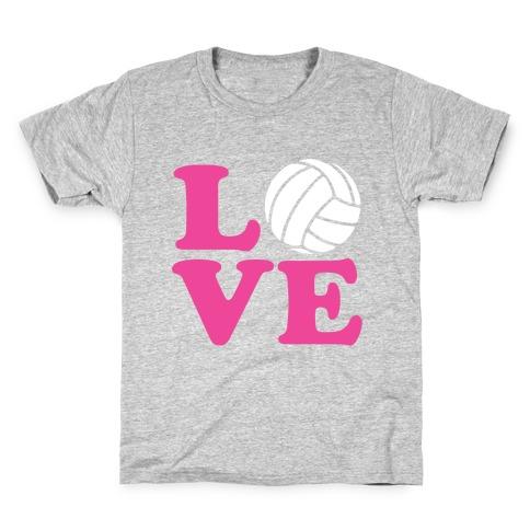 Love Volleyball Kids T-Shirt