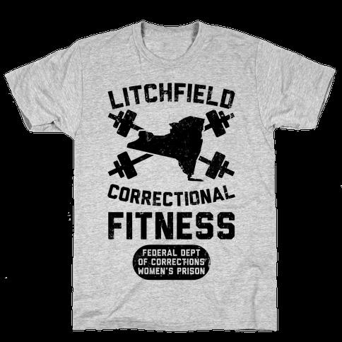 Litchfield Correctional Fitness Mens T-Shirt