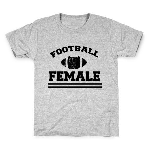 Football Female Kids T-Shirt