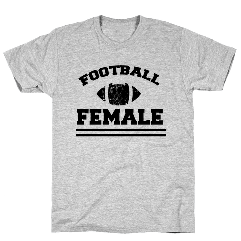 Football Female Mens T-Shirt
