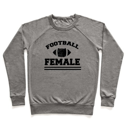 Football Female Pullover