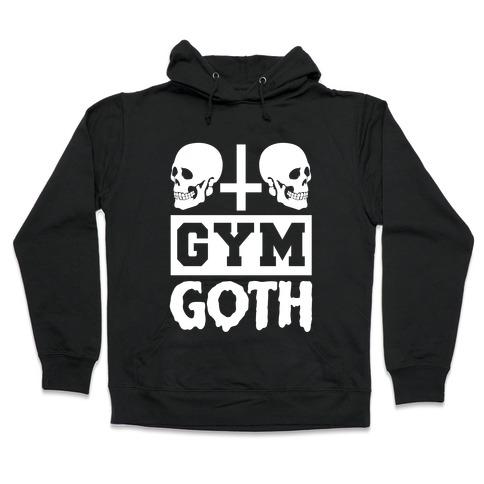 Gym Goth Hooded Sweatshirt