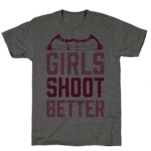 Girls Shoot Better (Bow)