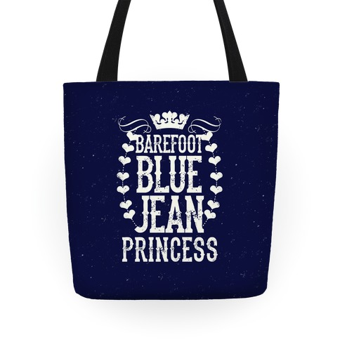 Barefoot Blue Jean Princess Tote