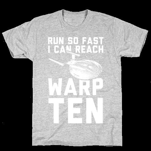I Can Reach Warp Ten Mens T-Shirt