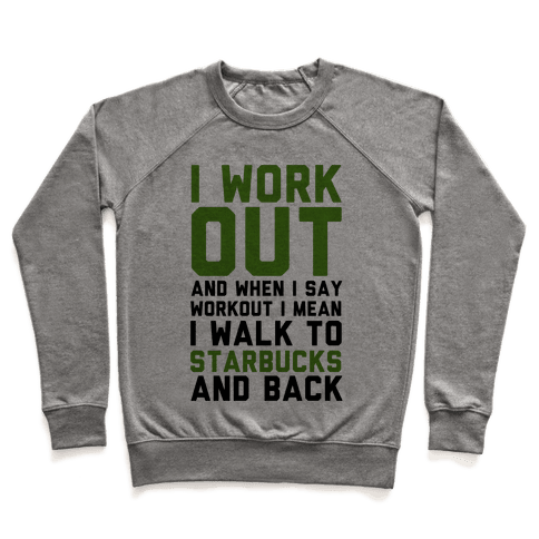 I Workout. Pullover