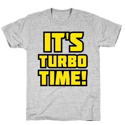 It's Turbo Time Mens/Unisex T-Shirt