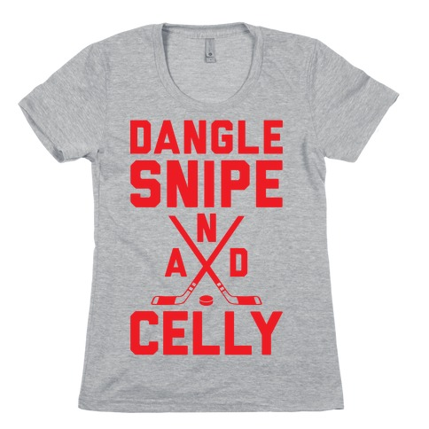 Dangle Snipe And Celly Womens T-Shirt