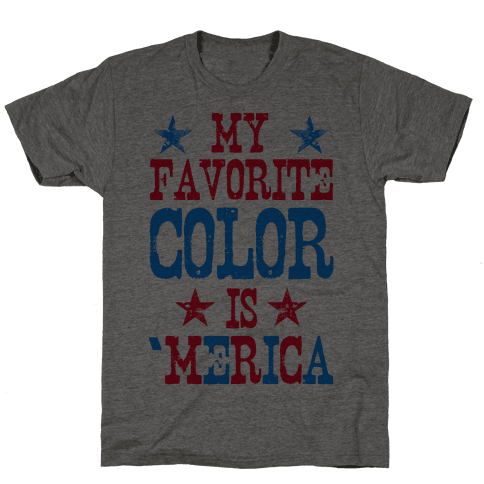 My Favorite Color is 'Merica! (Patriotic Sweatshirt)