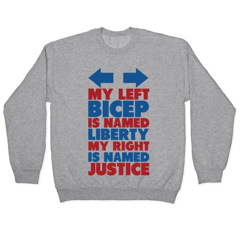 Liberty and Justice Pullover