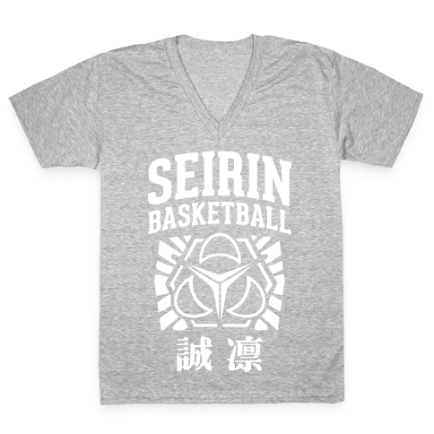 Seirin Basketball Club V-Neck Tee Shirt