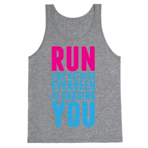 Run Like Katniss is Chasing You Tank Top