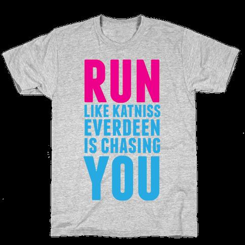 Run Like Katniss is Chasing You Mens T-Shirt