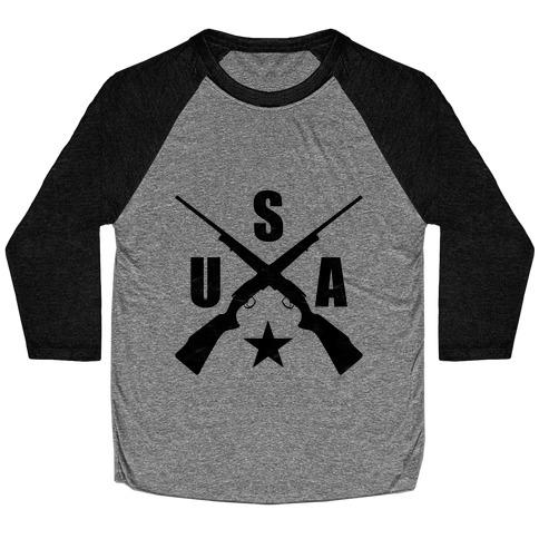 USA Rifles Baseball Tee