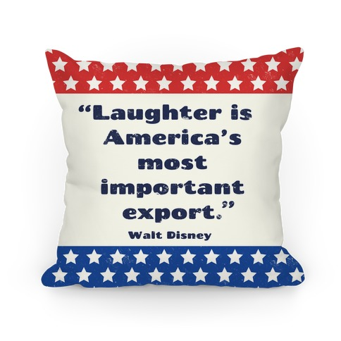 America's Most Important Export Pillow