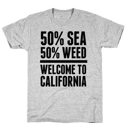Welcome To California Mens T-Shirt