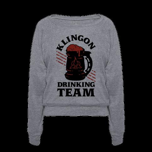 Klingon Drinking Team T Shirts Tank Tops Sweatshirts