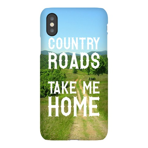Country Roads Phone Case