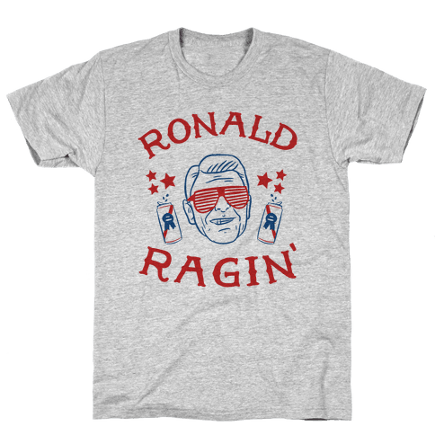 Ragin' Reagan Mens T-Shirt