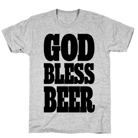 God Bless Beer T-Shirt