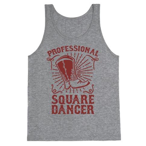 Professional Square Dancer Tank Top