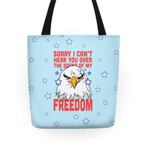 Sound of My Freedom Tote