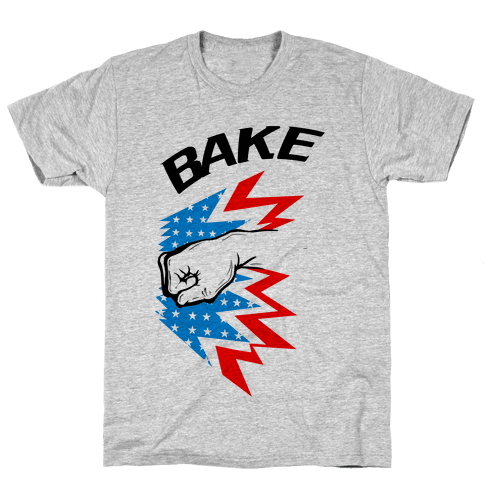 Shake and Bake (Athletic Pt.2) Mens T-Shirt