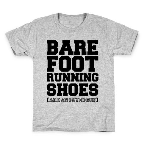 Barefoot Running Kids T-Shirt