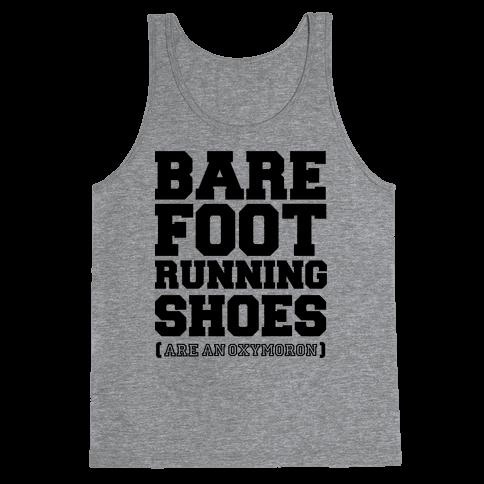 Barefoot Running Tank Top