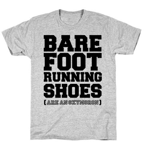 Barefoot Running T-Shirt