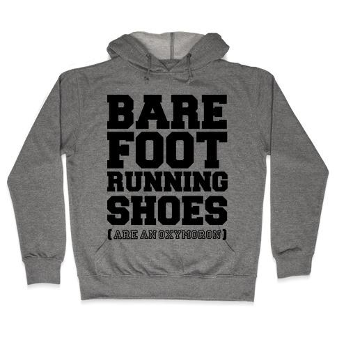 Barefoot Running Hooded Sweatshirt