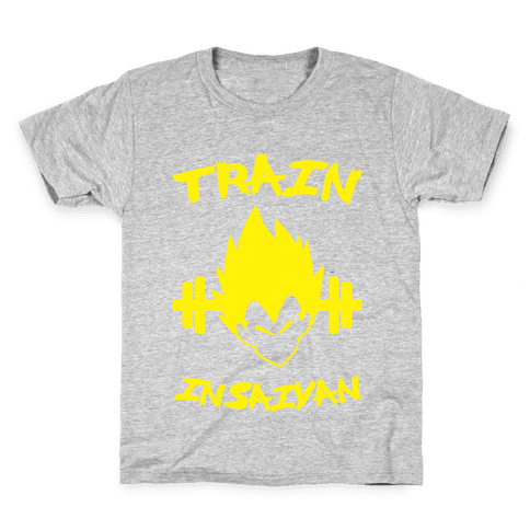 Train InSaiyan Kids T-Shirt
