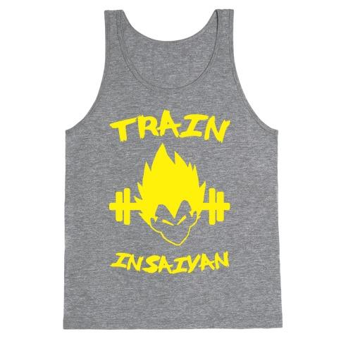 Train InSaiyan Tank Top