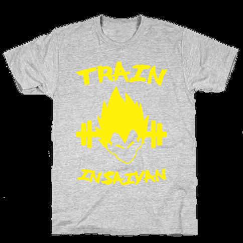 Train InSaiyan Mens T-Shirt