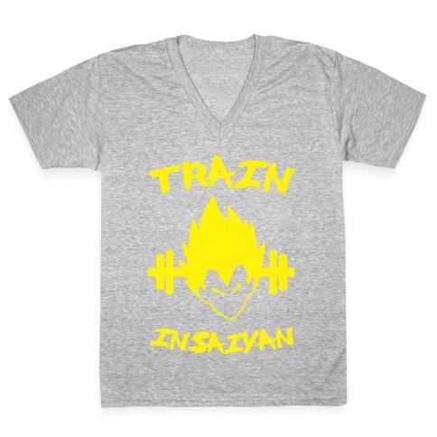 Train InSaiyan V-Neck Tee Shirt