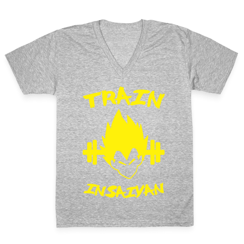 Train InSaiyan V-Neck Tee Shirt