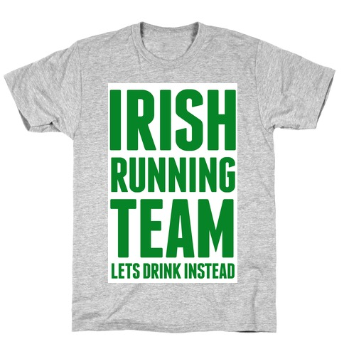 Irish Running Team T-Shirt