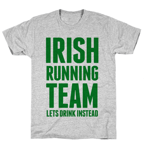 Irish Running Team Mens T-Shirt
