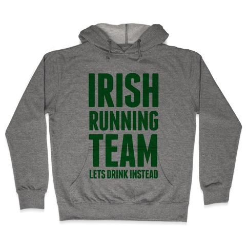 Irish Running Team Hooded Sweatshirt