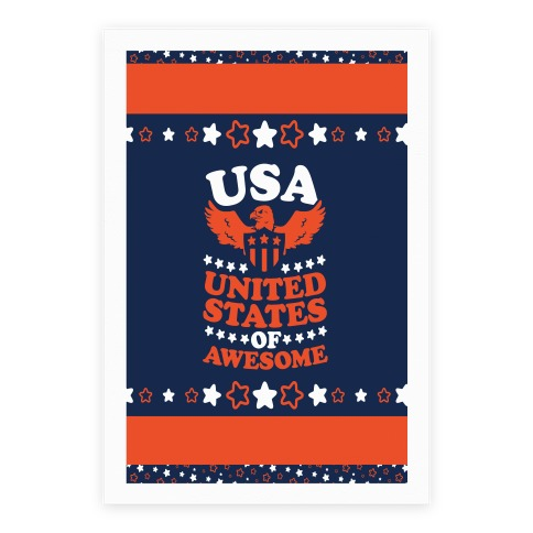 United States of Awesome Poster