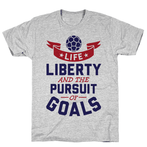 The Pursuit Of Goals Mens T-Shirt