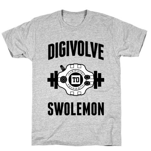 Digivolve to Swolemon! T-Shirt