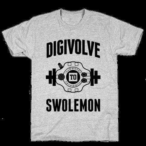 Digivolve to Swolemon! Mens/Unisex T-Shirt