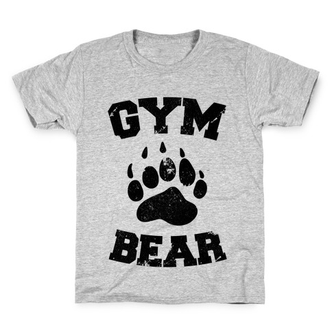 Gym Bear Kids T-Shirt