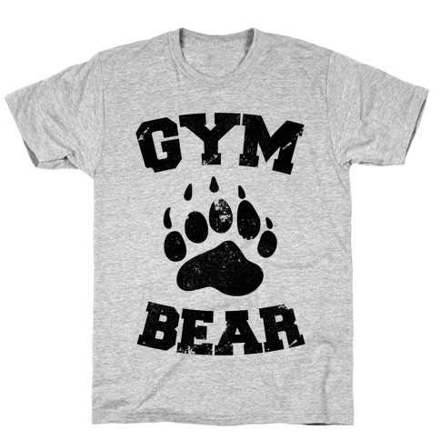 Gym Bear Mens/Unisex T-Shirt